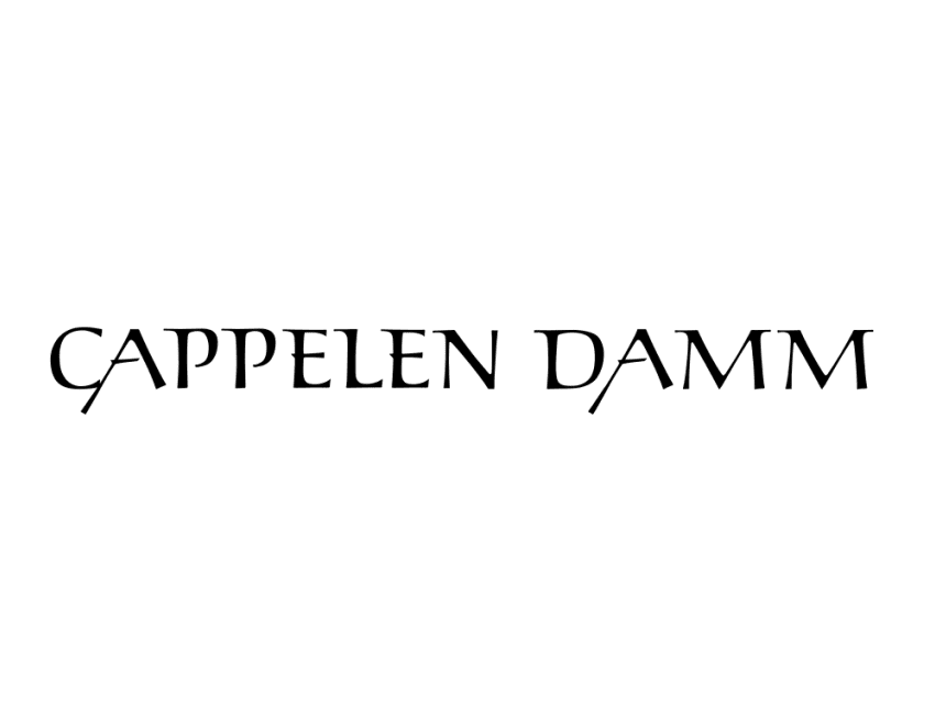 Logo_Cappelen Damm_Black on white